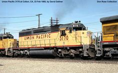 Union Pacific  3170, Class SD40-2, was built in February 1972, #7334-48, FN…