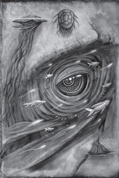 The Santhid - Interior Art from Words of Radiance