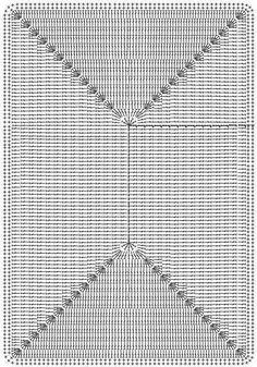 Crochetpedia: Lots of Crochet Purse Patterns and mobile purse patterns! Crochet Motifs, Crochet Diagram, Crochet Squares, Crochet Granny, Crochet Doilies, Crochet Lace, Crochet Stitches, Crochet Patterns, Crochet Slipper Boots