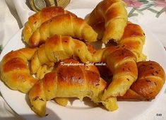 Croissant, French Toast, Breakfast, Party, Brot, Morning Coffee, Crescent Roll, Parties, Crescent Rolls
