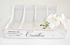 Besteckkasten im Shabby-Stil von Nostalgie-Schmiede auf DaWanda.com