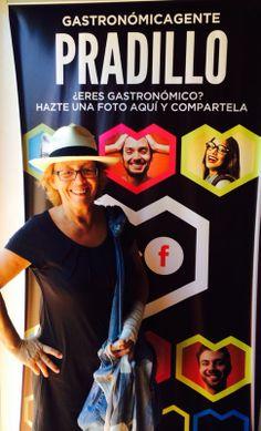 Nuestra amiga Pilar Goyoaga... gastronómicagente!!!