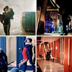 Oliver carrying Felicity. #Olicity