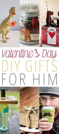 Valentine's Day DIY Gifts for Him - Little Gifts he will love and use! The Cottage Market