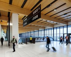 office of mcfarlane biggar architects + designers Jackson Hole Airport, Fort Mcmurray, Airport Hotel, International Airport, The Expanse, How To Memorize Things, Retail, Construction, Architecture