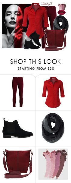 """""""Set 106"""" by witchy13 on Polyvore featuring LE3NO, TOMS, Pistil, M&Co, Gucci and Huda Beauty"""