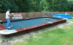 Giant Pool Table