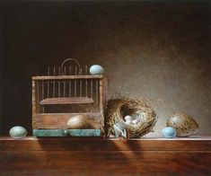 Roman Reisinger - Still life with birdcage
