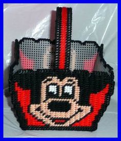 """Mickey Mouse Plastic Canvas Patterns 