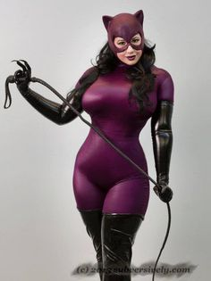 Catwoman, cosplayed by BelleChere, photographed by Subversive Photography