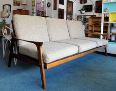 Danish Deluxe Inga Sofa Model no. 143 | | Melbourne Retro Furniture | Melbourne Vintage Furniture | Australian Mid 20th Century | Danish Modern | Vintage Industrial