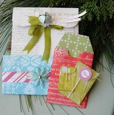 Christmas envelopes for gift cards