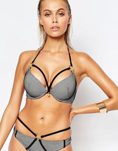 Ann Summers Bay Boost Mesh Bikini Top