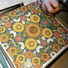 433 Best Secret Garden Coloring Book Images On Pinterest