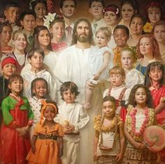 Jesus loves the little children ...  All the children of the world!