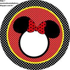 Montando a minha festa: Minnie Vermelha