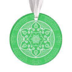 Spring Mandala Ornament - spring gifts beautiful diy spring time new year