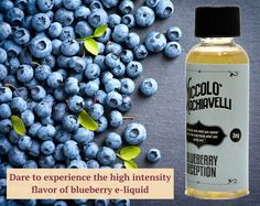 Dare to experience the high intense flavor of blueberry e-liquid & vape juice in Irving, Texas.