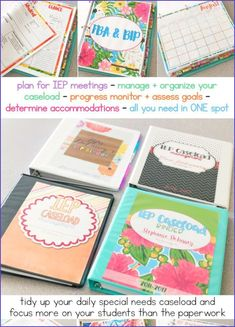 So today, I'm going to share my finest back to school company ideas. I'll have you going from snoozing your phone and sleeping in (is that a ... #ausb... School Organization, Organization Hacks, Iep Binder, Special Needs Teacher, Iep Meetings, Company Ideas, Tidy Up, Going Back To School, Good Job