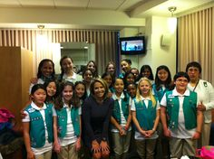 Girl scouts troop 3441 from New York City