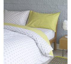 Buy Habitat Ditsy Grey Bedding Set - Double at Argos.co.uk, visit Argos.co.uk to shop online for Duvet cover sets, Bedding, Home and garden