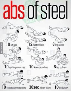 Easy abs exercises. Very effective!!
