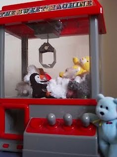 """My photo: """"Escape From The Claw Machine"""" and see a list of many free claw machine games you can play on the web"""