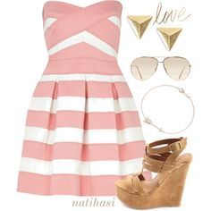 Summer Love Outfit, created by natihasi on Polyvore