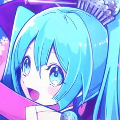 Vocaloid, J Pop Bands, Miku Chan, Digital Art Anime, Fb Memes, Matching Pfp, Cute Icons, Girls Life, Magical Girl