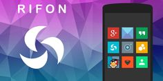ApkDriver - Latest Android Apps,Games and News: Rifon – Icon Pack v5.9.0 apk