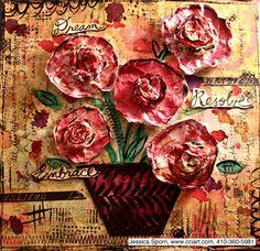 Jessica Sporn Designs: Dream, Resolve, Embrace - http://jessicasporn.blogspot.com/2013/01/dream-resolve-embrace.html