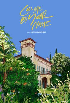 Call Me By Your Name - film illustration by Spiros Halaris