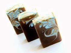 Handmade Swirl Soap by Petals Bath Boutique