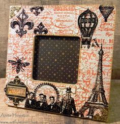 "The Artful Maven Haven: ""Inspired By...Paris"" frame http://theartfulmaven.blogspot.com/2013/05/inspired-byparis.html"