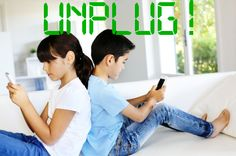 The American Academy of Pediatrics recommends no more than 1-2 hours per day of combined technology use, yet elementary children use on average 8 hours per day!  Read Unplug! (why less screen time is best for kids!)
