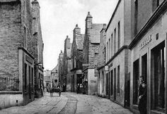 Tour Scotland Photographs: Old Photograph Plainstones Stromness Orkney Islands Scotland