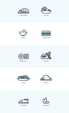 Dining icons d attach by Vy Tat
