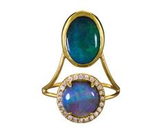 Xiao Wang   Diamond and Opal Galaxy Ring in New Rings at TWISTonline