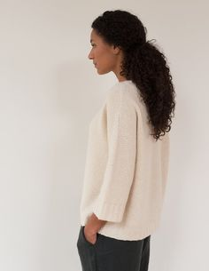Julie Hoover for Purl Soho: Addison Sweater Pattern | Purl Soho