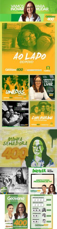 Geovana Senadora - PSB on Behance