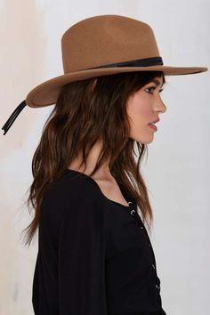 Nasty Gal West Fest Wool Hat - Hair + Hats | Accessories | All |  | Hair + Hats