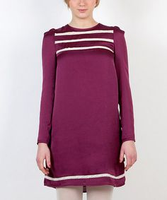 Take a look at this Purple Tunica Pollitos Dress by Titis Clothing on #zulily today!