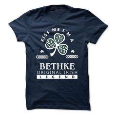 BETHKE - KISS ME IM Team - #swag hoodie #sweatshirt fashion. LOWEST PRICE  => https://www.sunfrog.com/Valentines/-BETHKE--KISS-ME-IM-Team.html?id=60505