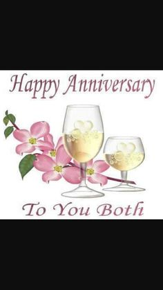 Happy Anniversary to u both enjoy ur day!!! @Doreen2014