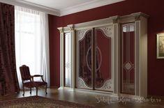 shkafy-kupe-klassika.ru gallery.php Classic Cabinets, Bedroom Cupboards, Wardrobe Closet, Interior Decorating, Interior Design, Design Case, Interior Exterior, Home Decor Furniture, Bedding Sets