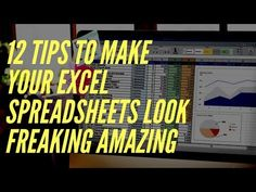 Learn how to make your excel spreadsheets look professional, even if you are a complete novice. These changes are simple and easily implemented, but look great.