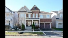 47 Bellhouse Pl., Brooklin | Stunning 4+1 Bedroom Brick Beauty Built In 2010 Boasting 3319 Sq Ft With Professionally Finished Bsmt! Upgrades Abound W Smooth 9 Ft Ceilings, Hrdwd Flrs & Cali Shutters Thr/O Main Flr, Dining Rm W Coffered Ceiling, Main Flr Office, Modern Kitchen W S/S Apps & Upgraded Range Hood & Living Rm W Gas Fireplace! Upstairs Features Master Bdrm W W/I Closet & 5 Pc Ensuite W Glass Shower! Newly Finished Bsmt'16 Includes Spacious Rec Rm W Pot Lights