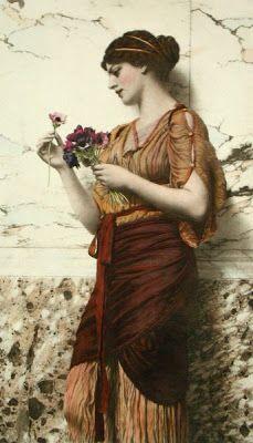 IMAGINA Y CREA: The spirit of spring, paintings John William Godward