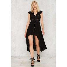 Get Uneven Asymmetric Dress (380 HRK) ❤ liked on Polyvore featuring dresses, black, flounce dress, pleated dress, semi sheer dress, flutter-sleeve dress and asymmetrical ruffle dress