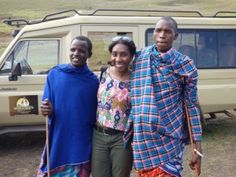 Guests with the Maasai:  Come on over to findyourselfinafr...  ONE Trip Can Change Everything!